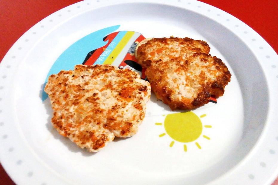 Receta de hamburguesa de pavo para bebés
