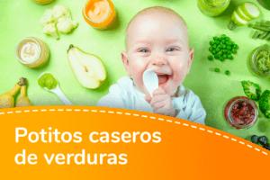 Recetas de potitos de verduras caseros y fáciles