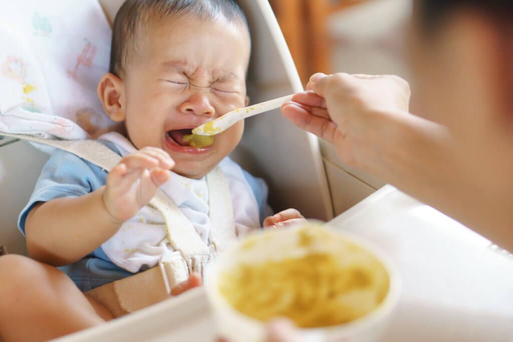 Si tu bebé no quiere comer no le fuerces
