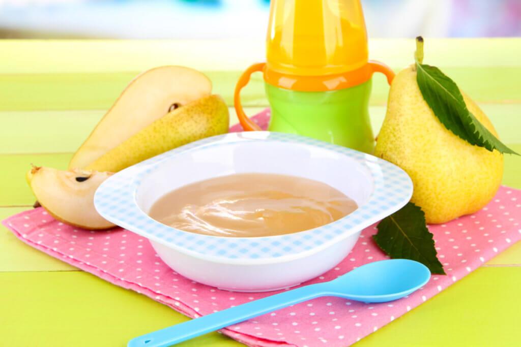 Receta de compota de pera para bebés