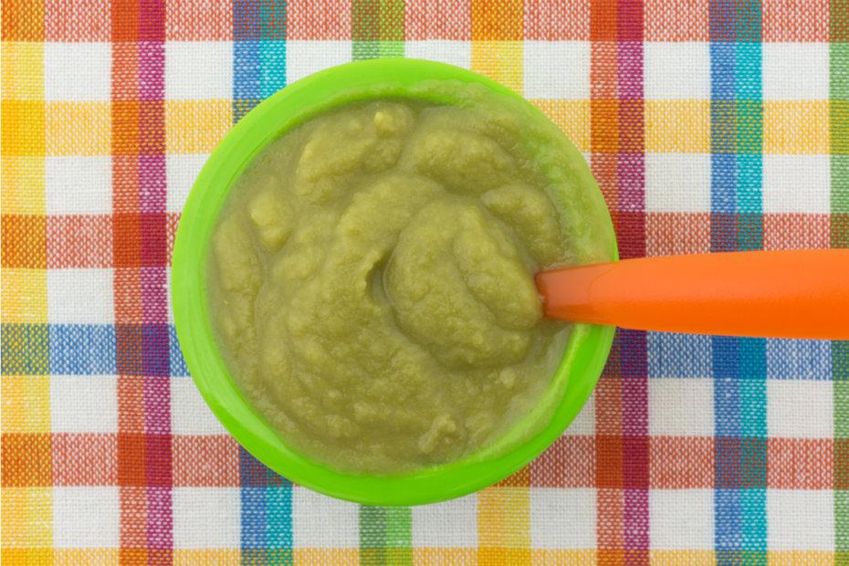 Receta de puré de verduras con lenguado para bebés