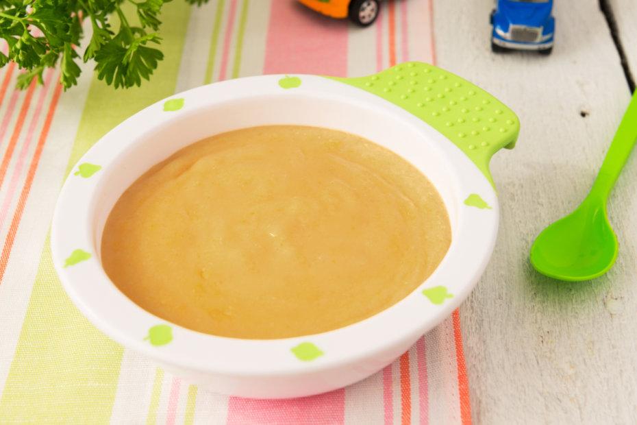 Receta de puré de cocido con ternera para bebés
