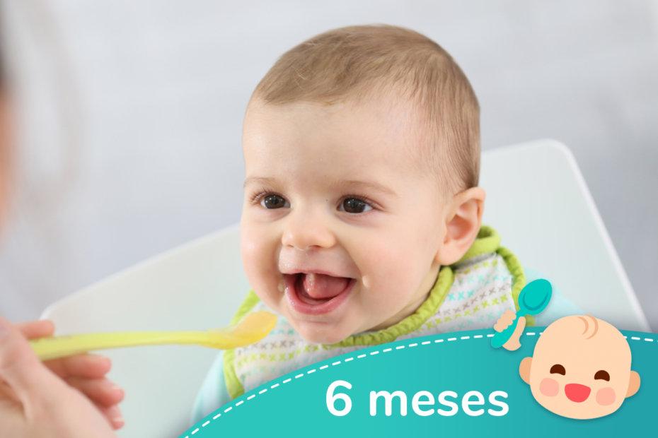 Recetas para bebés de 4 a 6 meses