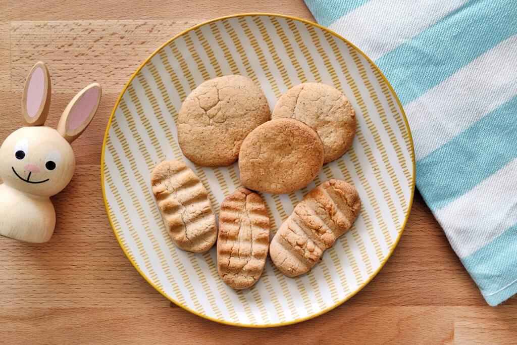 Receta de galletas sin gluten para bebés