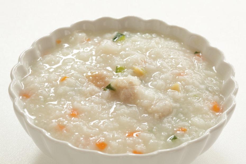 Receta de sopa de arroz y pollo para bebés