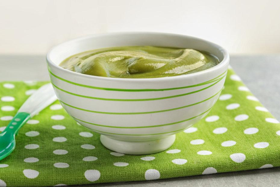 Receta de puré de judías verdes con tomate