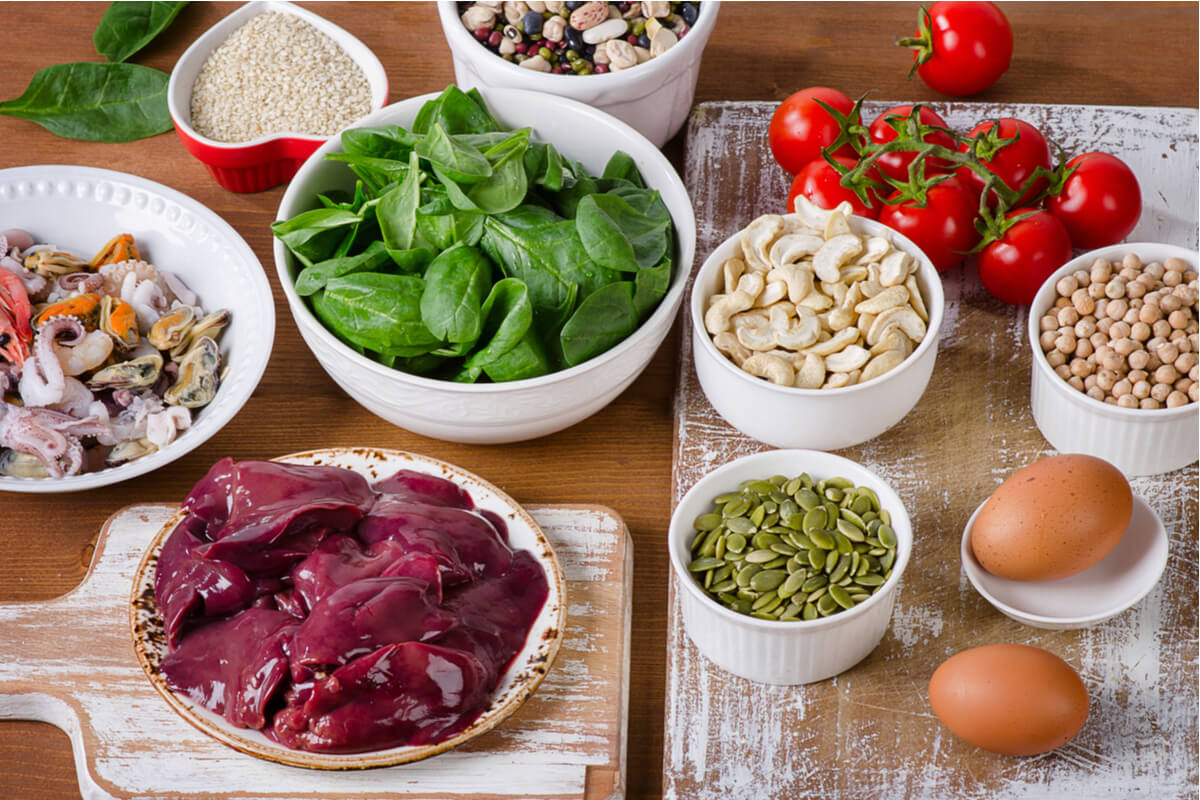 Alimentos ricos en hierro para tu bebé