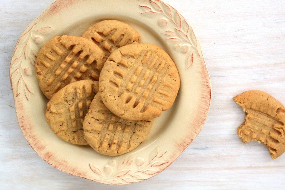 Receta de galletas de mantequilla de cacahuete para bebés