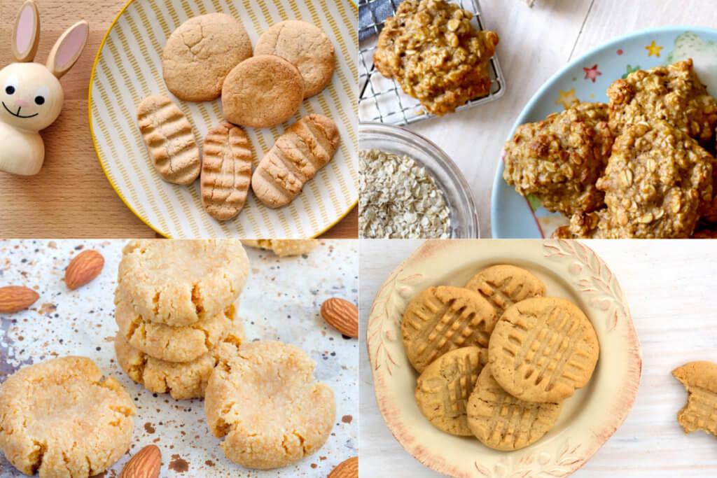 Recetas de galletas para bebés que puedes hacer en casa