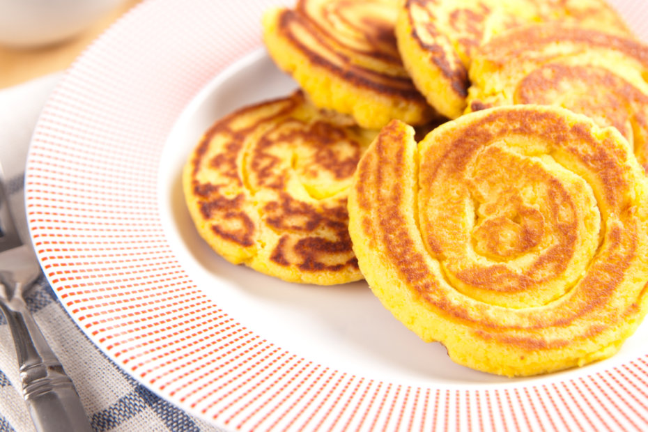 Receta de tortitas sin gluten con harina de coco para bebés