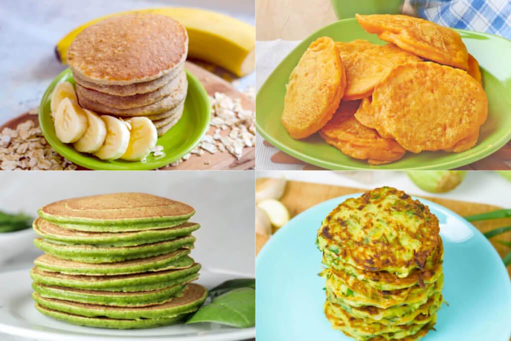 Las mejores recetas de tortitas BLW para bebés