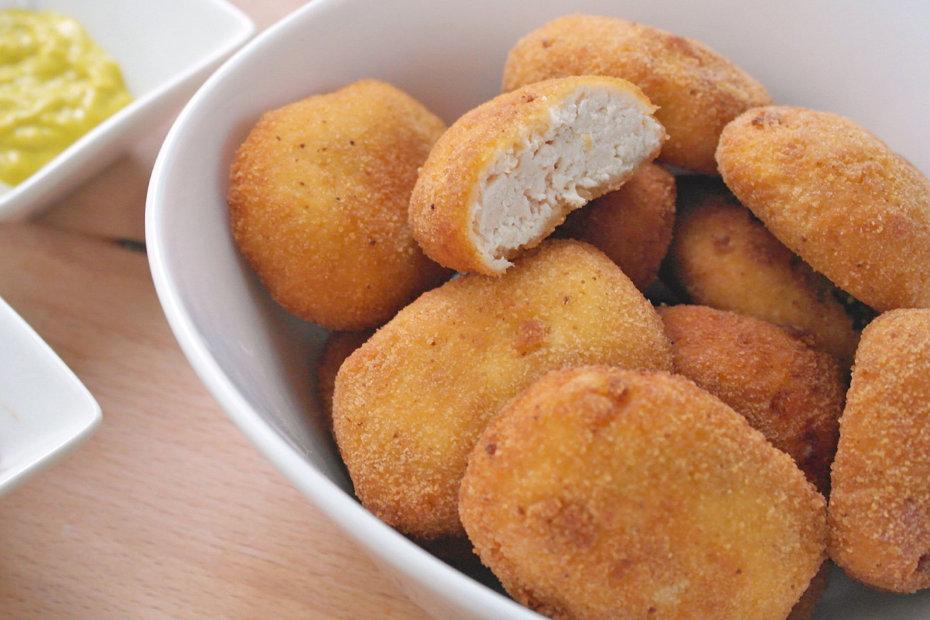 Receta de nuggets de pollo caseros para bebés